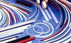 Шнуры круглого сечения, профили резиновые из материалов NBR, Viton, EPDM, HNBR, MVQ, TPU.